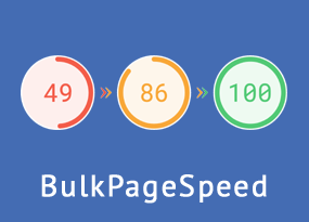 BulkPageSpeed